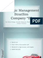 Strategic Management stratsim