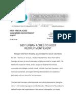 Indy Urban Acres Press Release