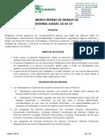 2.3.1.- Reglamento Interno de Trabajo 2015