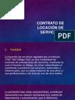Contrato de Locaciòn de Servicios