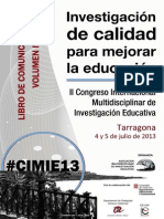 Libro Comunicaciones CIMIE 13 Volumen II Temas