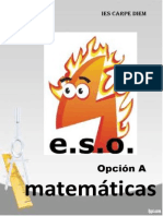 Libro Matematicas 4ESO Mat A