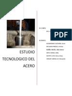 Estudio Tecnologico Del Acero