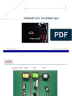 Immoblizer Tips