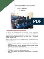 VENTAJAS DE LA WEB  2.0 EN LA EDUCACIÓN