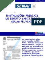 6.Instalações Prediais de Esgoto Sanitário e Águas Pluviais