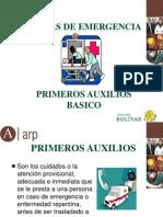 PRIMEROS AUXILIOS BASICO