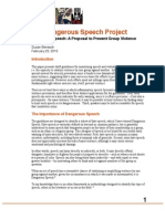 Benesch - Proposed Guidelines on Dangerous Speech