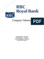 Financial Modelling RBC Project (1)