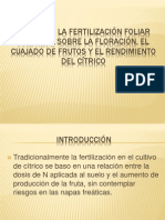 EFECTO DE LA FERTILIZACIÓN FOLIAR CON UREA SOBRE.pptx