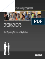 Caterpillar Speed Sensor Principles and Operation