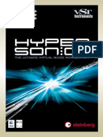 Hypersonic - Operation Manual - (c) Steinberg Media Technologies GmbH_ 2