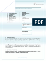 Silabo Ingeniería Eléctrica 2014-5