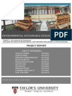 Environmental Sustainable Design Report