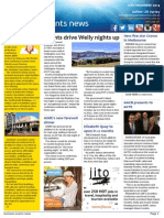 Business Events News for Fri 12 Dec 2014 - Events drive Welly nights up, New five star Crown in Melbourne, AACB presents to ACTE, AIME's new farewell dinner, and much more