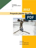 Proyecto de Litio