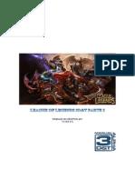 League of Legends RPG Parte 3