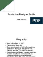 Production Designer Profile