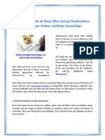 Investing Guide at Deep Blue Group Publications LLC Tokyo