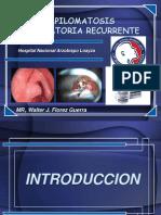 papilomatosis laringea