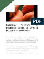 Ochenta millones de bacterias pasan de boca a boca en un solo beso.pdf