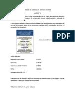 Informe de Comision de Apoyo y Logistica