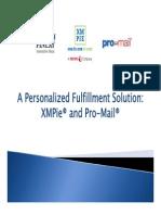 XMPie Pro-Mail Webinar