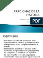 Paradigmas de La Historia