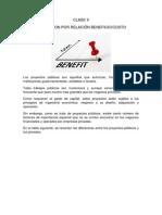 CLASE 9 analsis Beneficio/costo