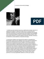 Jarry Precursor Desconocido de Heidegger