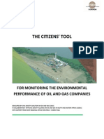 Citizens' Tool for Monitoring Environmental Performance of Oil and Gas Companies