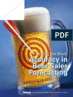 Beer Forecasting Hitting the Mark