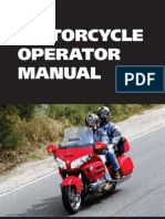 Library Motorcycle Operator Manual