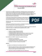 MRP en Los Servicios - Planeación de La Distribución de Los Recursos