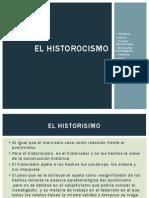 El Historocismo