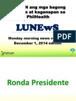 Dec 1 LuNews