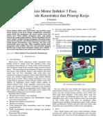 102009802 Analisis Motor Induksi 3 Fasa Dengan Metode Konstruksi Dan Prinsip Kerja