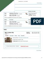 UK Flight and Hotel 2