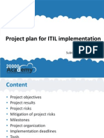 Project Plan for ITIL Implementation 20000Academy en (1)