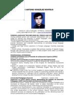 Felix Gonzalez Cv