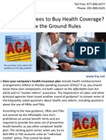 Paying Employees to Buy Health Coverage? Know the Ground Rules