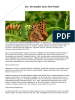 Business, Biodiversity, Economics and a New Panel