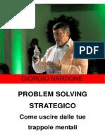 Giorgio Nardone - Problem Solving Strategico
