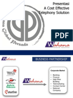 Proposal Wahana Telecom Solution