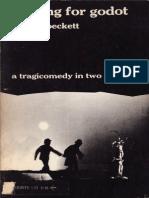 Beckett, Samuel - Waiting for Godot (Grove, 1954)