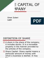 2nd Share Capital of a Company