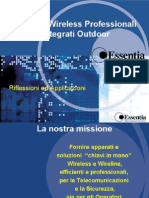 Essentia - Soluzioni Wireless Professionali Outdoor