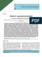 Bio Films in aquaculture