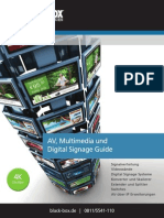 Ratgeber für Digital Signage und Audio/Video-Distribution (White Paper)