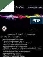 Principios de Medida Transmisores
